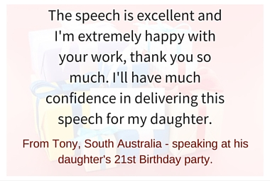 Custom speech writing services nsw