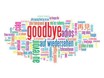 Farewell Good Luck Clip Art