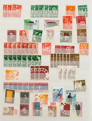 Visual Aid Speech Topics Stamps