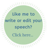 Speech writing service