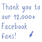 Thank you to our Facebook fans