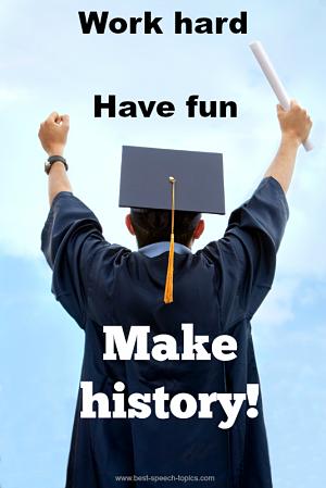 Quotes for Graduation Speeches