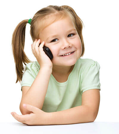 Children and Cell Phones Speech Sample