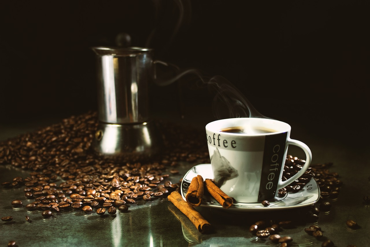 Sample informative speech outline on caffeine