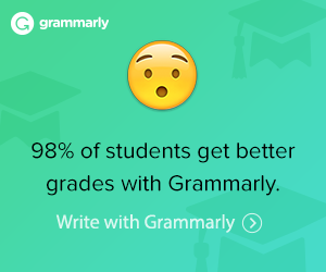 98% of students get better grades with Grammarly