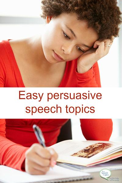 rant speech topics