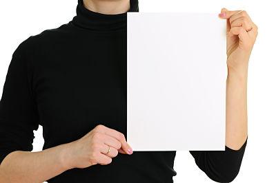 handouts during speech