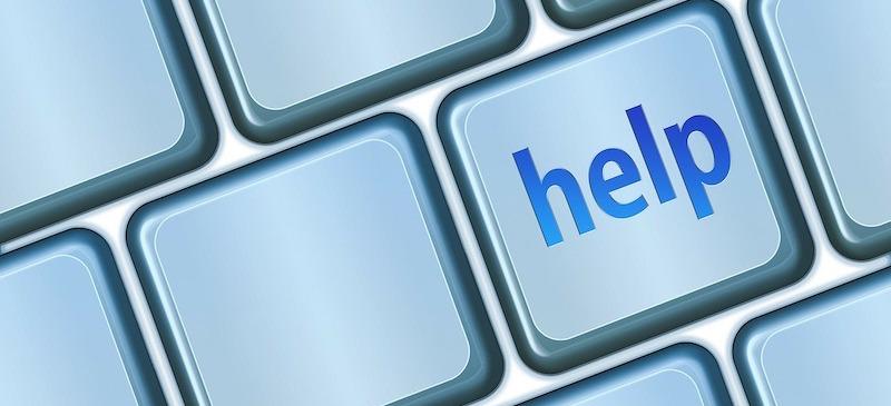 public speaking help button