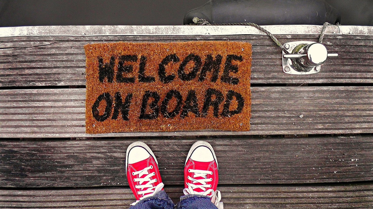 Welcome On Board - Free Welcome Speech